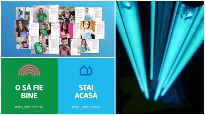 Bine cu bine face bine. #staycontactless cu George și contribuie la dezvoltarea primului robot de dezinfecție pentru spitalele din România