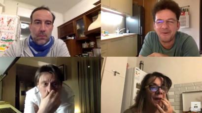 """Discutabil"", un serial din izolare. Serban Pavlu: Ne adunam seara, repetam, nu este o improvizatie cum crede toata lumea"