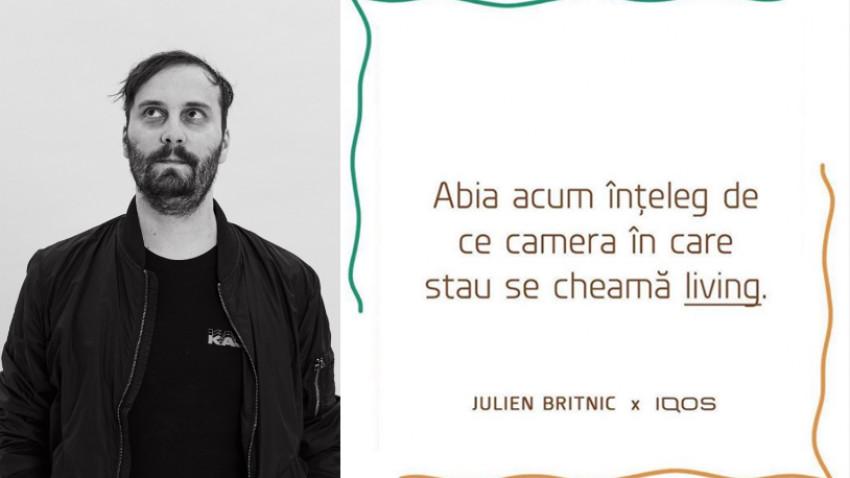 Julien Britnic despre creativitate și ce ne mai menține fresh în perioada asta