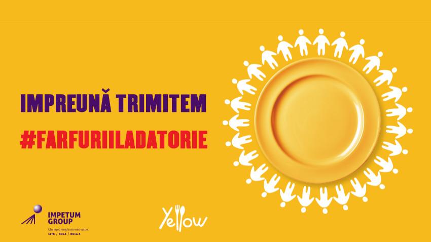 Line Agency România implementează campania #FarfuriiLaDatorie inițiată de Yellow.Menu și Impetum Group pentru personalul medical din Capitală