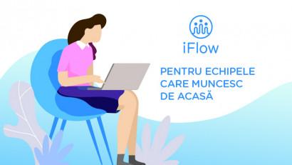 Aplicația de pontaj & HR, iFlow adaptată pentru munca de acasă