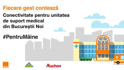Orange susține inițiativa Auchan și Leroy Merlin
