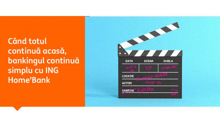 O campanie făcută remote de ING Home'Bank și Jazz:despre oameni adevărați și soluții relevante de banking