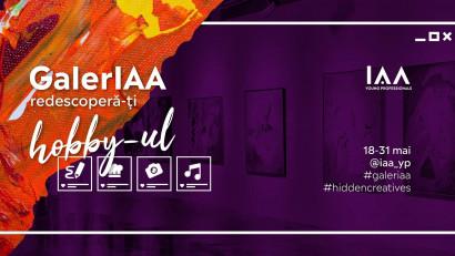 GalerIAA - expoziția virtuală a pasiunilor oamenilor de comunicare și marketing