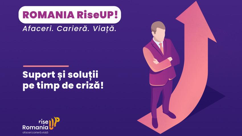 Romania Rise Up, cea mai complexă platformă de susținere a mediului business din România