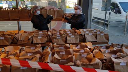 Stațiile OMV în parteneriat cu Mastercard sprijină cinci spitale din România cu produse alimentare VIVA pe durata stării de urgență