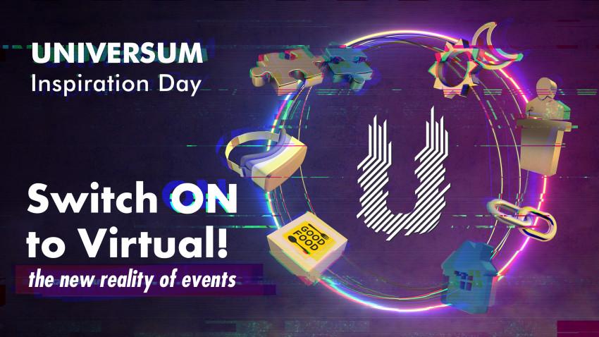 Într-o industrie a evenimentelor paralizată de incertitudine, UNIVERSUM prezintă pe data de 7 mai soluții și instrumente pentru migrarea oricărui tip de eveniment în online