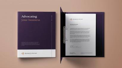 ACT PR și Enhance Studios prezintă noua identitate vizuală a societății de avocatură Pelinari & Pelinari