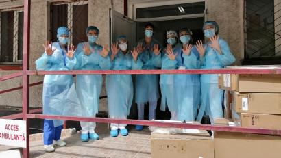 Prima tranșă de echipamente ATI donate de Grupul Digi a ajuns la spitalele din țară