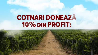 """Cotnari doneaza 10% din profitul sau Spitalului Clinic deBoli Infectioase""""Sfanta Parascheva"""" pe baza votului publicului din cadrul campaniei #pentruoameni #pentrubine, desfasurata intre 1.04-30.04.2020"""