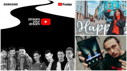 La ce visează vloggerii români la început de drum. Samsung anunță câștigătorii Stream Your Dream
