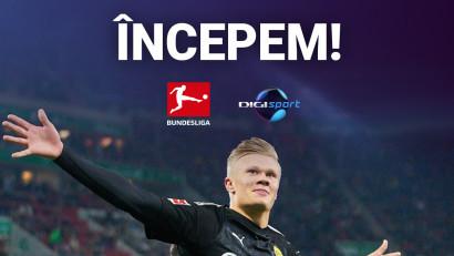 Bundesliga revine live pe Digi Sport și Digi 4K, într-un maraton fotbalistic
