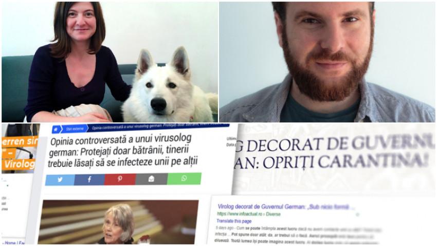 Codruța Simina & Ovidiu Mihalcea, Misreport: Știrile false pe care le credem spun ceva despre noi. Toți avem câte un soft spot în care ne ajung din urmă
