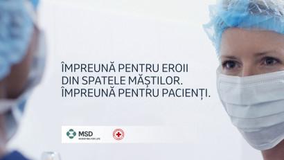 MSD România continuă susținerea sistemului medical, protejarea cadrelor medicale și a pacienților, în contextul pandemiei COVID-19, donând jumătate de milion de lei către Crucea Roșie Română