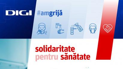Grupul Digi donează către mai multe spitale din țară echipamente medicale de peste 1,6 milioane EUR și un laborator de testare RealTime PCR