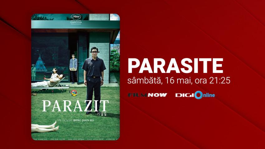 """Luna filmelor despre familie: În 16 mai, în premieră TV națională la Film Now, filmul - fenomen """"Parasite"""""""
