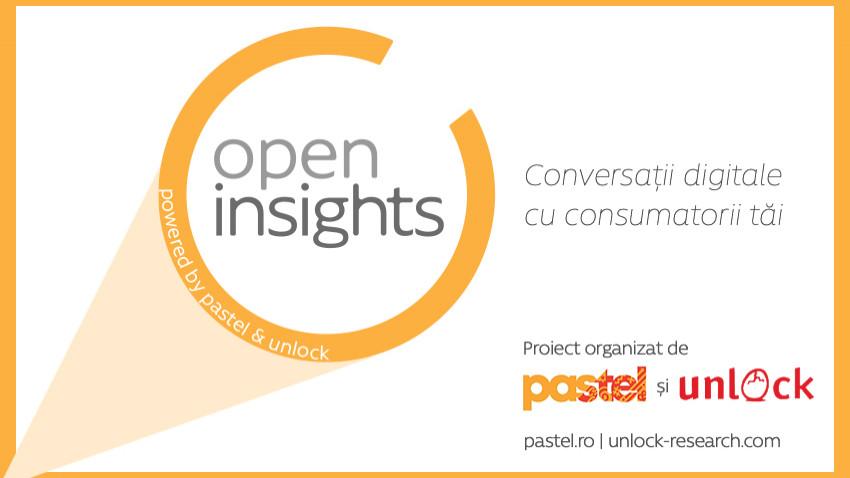 "pastel și Unlock Market Research au lansat""Open Insights"""