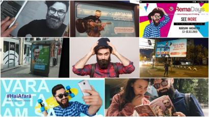 Stas Sîrbu, chipul a făcut înconjurul lumii în reclame: Probabil am ochi buni sau părinți frumoși