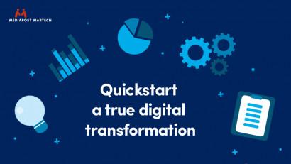 """Mediapost Martech lansează Quickstart, un produs destinat afacerilor românești ce doresc să inițieze o transformare digitală reală a modelului lor de business: crearea unui ecosistem digital modern, """"la cheie"""""""