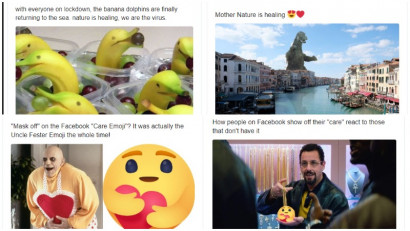 La vremuri noi, emoji si meme noi
