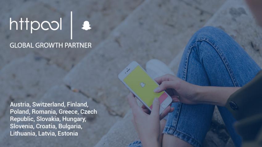 Snapchat, oficial în România prin Httpool