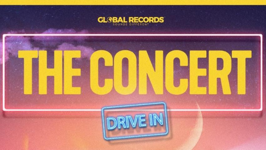 Global Records prezintă THE CONCERT drive-in, cel mai mare concert drive-in din România. Pe 19, 20 și 21 iunie, la Romexpo