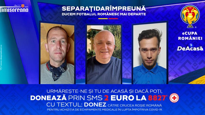 Timișoreana se alătură eCupei României, inițiativa Federației Române de Fotbal, și creează un studio virtual cu Bogdan Lobonț, Emil Grădinescu și XBRAKER unde vor dezbate cele mai intense faze din meciuri