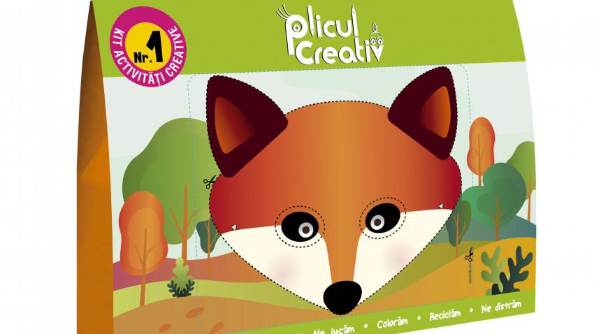 Plicul Creativ – primul KIT de activități educative și creative pentru copii