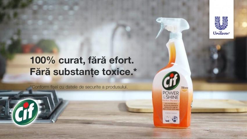 Infinit Agency (Stefanini Infinit) semnează pentru Unilever o nouă campanie Cif