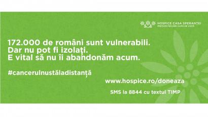 HOSPICE Casa Sperantei -#CancerulNUstaladistanta