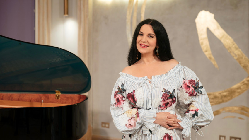 Angela Gheorghiu în recital LIVE la București