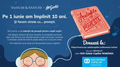 Saatchi & Saatchi + The Geeks - Audiofile de poveste