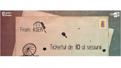 ASER | Găsește tichetul de 10 în sesiune
