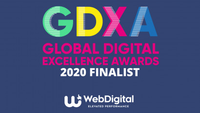 WebDigital - Finalista cu 3 proiecte la Global Digital Excellence Awards