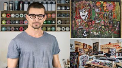 Mark Williams, artist britanic stabilit în România: Îmi place diversitatea stilurilor din București, degradarea și măreția, urâtul și elegantul