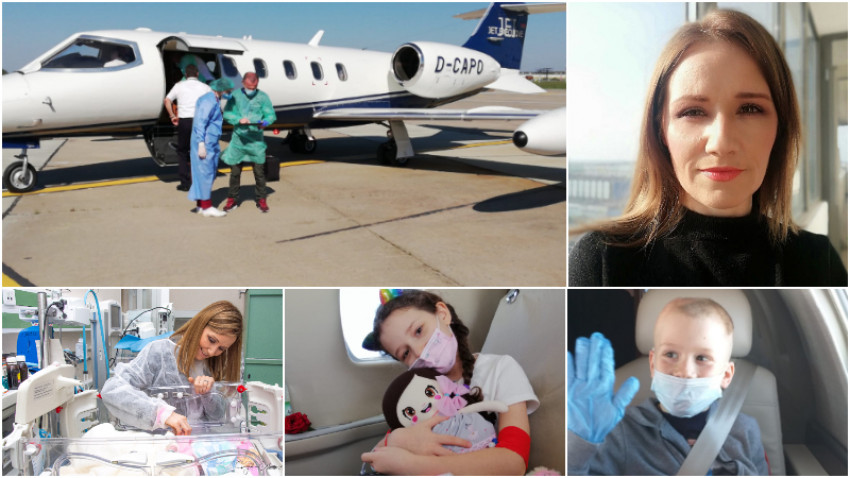 [ONG de criză] Adelina Toncean: Am decis sa facem un efort pentru a achizitiona un avion pe care sa il transformam in ambulanta aeriana