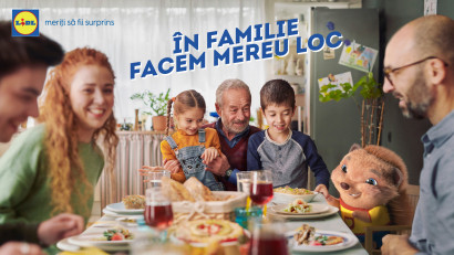 Dublă premieră în noua campanie de imagine Lidl: Duetul între Carla's Dreams & Irina Rimes și prima animație 3D integrată într-un spot manifest al retailerului