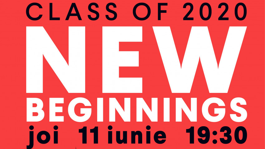 Școala ADC*RO: Class of 2020 & New Beginnings