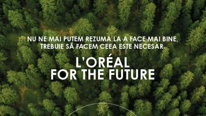 Grupul L'Oréal anunță noi obiective ambițioasede sustenabilitate pentru anul 2030