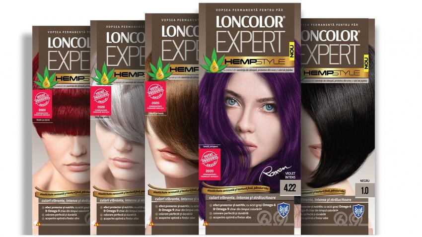 Votat Produsul Anului 2020: LONCOLOR EXPERT HempStyle,cea mai nouă gamă de la cel mai bine vândut brand de vopsea de păr din România