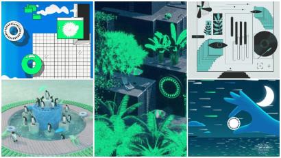 Cele mai fresh gif-uri din tara sunt aici. Cele 15 lucrari finaliste din Uninterrupted GIF Festival by glo