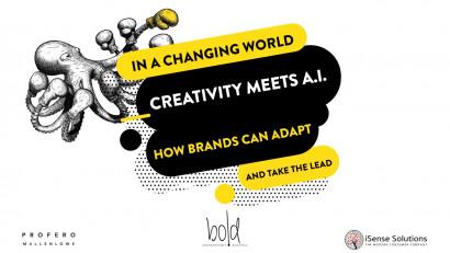 Studiu BOLD by Profero: Creativity meets A.I.