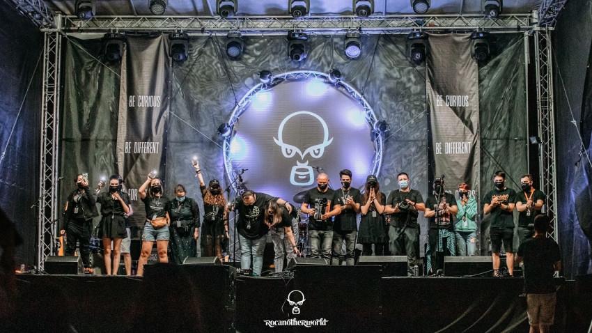 Rocanotherworld, primul festival de după ieșirea din starea de urgență, a avut loc la Iași între 24 - 28 iunie