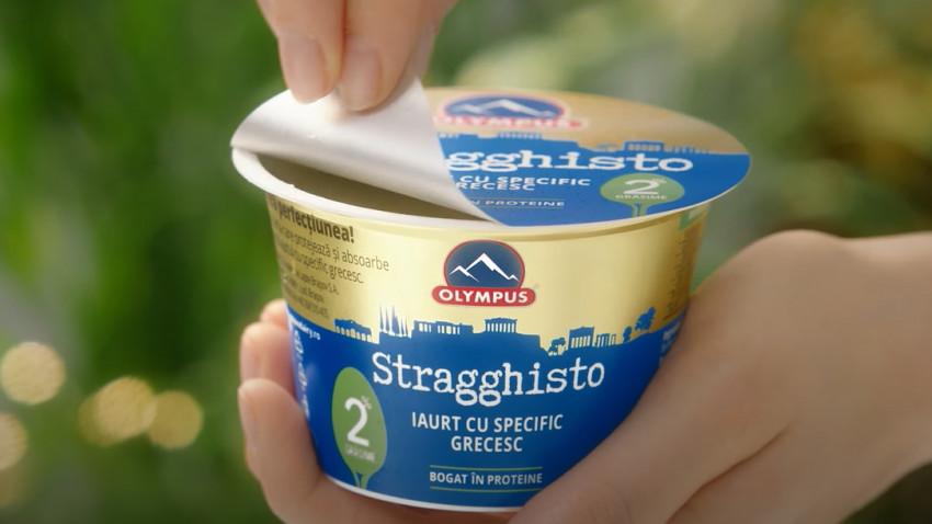 Oxygen semnează campania de comunicare a iaurtului Stragghisto Olympus