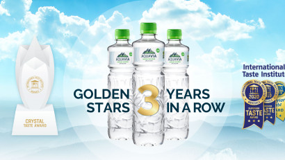 "AquaVia premiată la Bruxelles cu premiul ""Crystal Award"""