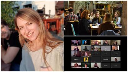 [Scoala ADC*RO] Ioana Adamescu: E nevoie de mai mult umor real, mai mult insight și mai multă ieșire din rețete, fără frica de ce o să zică lumea