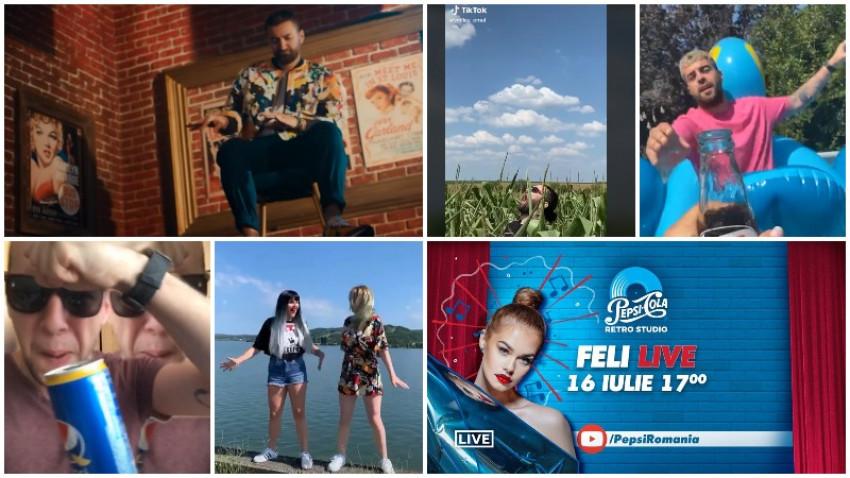 [Retro Vibes] Petrecerea care nu se termină niciodată. Pepsi lansează cel mai lung brand challenge trending pe Tik Tok