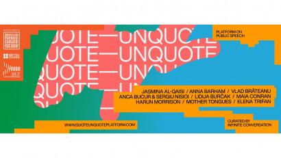 Quote—Unquote, platforma culturală care vorbește despre ce înseamnă să vorbești în public