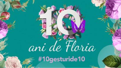 10 ani de Floria.ro: cum s-au schimbat preferințele românilor în materie de flori