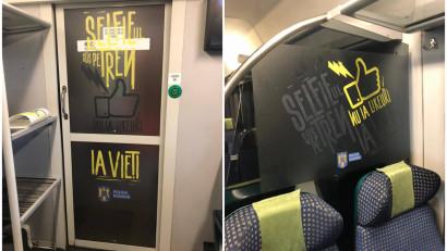 Politia Romana - Selfie-ul pe tren nu ia like-uri. Ia vieti (In tren)